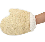 Natural Loofah Sponge Bath Glove