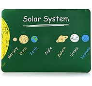 Solar System Patterns Folio Plastic Protective Hard Shell Case for Macbook Pro 13""