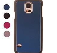 Brushed Aluminum Schützende Hülle für Samsung Galaxy i9600 S5 (verschiedene Farben)