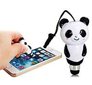 2-in-1 Cute Panda Design Stylus Pen with 3.5mm Anti-Dust Plug for iPhone iPod iPad
