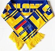 World Cup Gift Soccer Fan Scarf (Colombia Style)