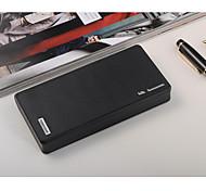 Cargador del banco de energía de la batería 12000mAh móvil externo para el iphone 6/6 más / 5 / 5s / samsung s4 / s5 / Nota 2 (negro)