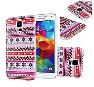 Stilvolle Tribal Design-Hartplastik-Hülle für Samsung Galaxy Mini S5 G800
