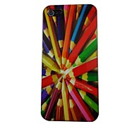 Beautiful Pencil Pattern PC Back Case for iPhone 5