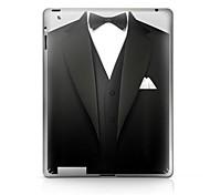Un Patrón Traje Pegatina protectora para el iPad 1/2/3/4