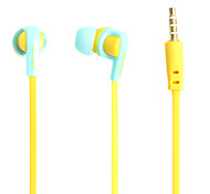 IN-048 Personalized 3.5mm In-Ear Bass Stereo Headphones with Mic for Samsung&iPhone&Sony&HTC Cell Phones&Tabs