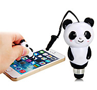 Universal 3.5mm Cute Mini Panda Touch Capacitive Stylus Pen for iPhone/iPad and Others