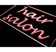 i481 Hair Salon Script Design Beauty Neon Light Sign