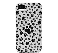 Der Hund Feet Hard Case für iPhone 4/4s