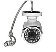 1X Sony 1/3 CCD 24IR LED 3.6mm 700TVL Outdoor Weatherproof Security CCTV Camera