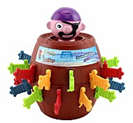 Divertente Fortunato Stab Pop Up Toy Gadget Pirate Barile Gioco