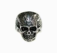Fashion Anello in acciaio inox Skeletons001