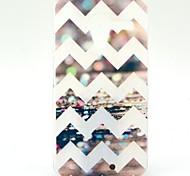 El patrón de onda de la raya Caja de disco de plástico para Motorola Moto X