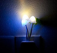 Night Light LED Light Sensor RGB Colorful Dream Mushroom