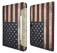 The Stars and the Stripes Pattern PU Leather Full Body Case with Stand for Samsung Galaxy Tab 4 10.1 T530
