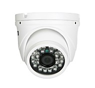 ESCAM Peashooter QD520 H.264 Dual Stream 3.6MM Day/Night Waterproof Dome IP Camera and Support Mobile Detection