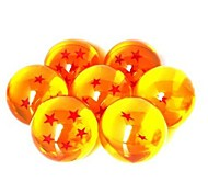 Anime DragonBall 7 Stars Crystal Ball Set of 7 pcs Dragon Ball Z Balls Complete set 3cm