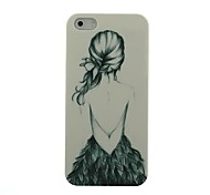 Little Girl Pattern Hard Case for iPhone5/5S