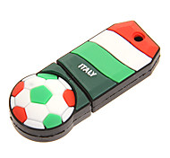 Holanda Portugal Itália Rússia USB 2.0 Flash Drive de 16 GB