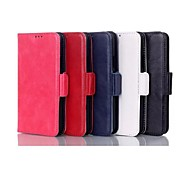 Wax Pattern Wallet Luxury PU Leather Case  for Samsung Galaxy S4 I9500 (Assorted Colors)