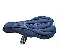 FJQXZ Preto 3D respirável Lycra Anti-skid Saddle Capa
