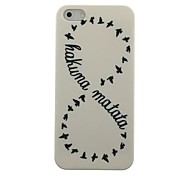 Hakuna Matata Pattern Hard Case for iPhone 5/5S