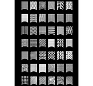 1PCS 42 Plant Pattern Nail Art Stamp Stamping Image Template Plate A