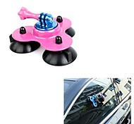 Gopro Accessories Mount / Suction For All Gopro ABS / Aluminium Alloy Pink