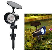 3-LED Solar Power Outdoor Garden Landscape Stake Flood Spotlight