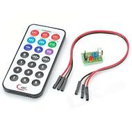 Raspberry Pi Encoding IR RC Module + HX1838+N Receiver Set - Green + Black