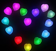 Coway amor romântico colorido Heart-Shaped LED Night Light