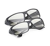 m&k luz polarizada retardador general de modelado espesan los vidrios 3D para la TV y el cine (2 unidades)