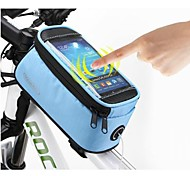 ROSWHEEL 4.8 Inch Cycling Polyester Waterproof Bike Tube Touch Screen Mobile Phone Bag