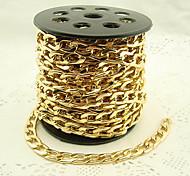Vintage 1m 1 centimetro acciaio inox di spessore ChainsDIY (1 Pc)