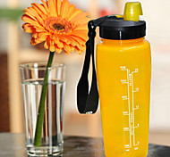 HYDRAKNIGHT 750ML PP Yellow Cycling Water Bottle