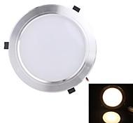 теплый белый свет Светодиодная лампа потолка (мужчины и женщины разъем) белый 1210lm AC85-265V 15w