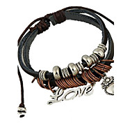 Love Accessories Leather Bracelet
