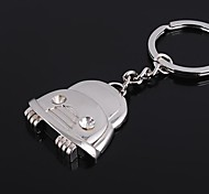 Key Chain Car Cartoon Key Chain Silver Metal