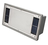 Rectangle Solar Powered LED Ground Light Plastic Painting