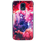 Flower Star Space Pattern Hard Case Cover for Samsung Galaxy S5 I9600