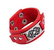 Bracelet en cuir PU Punk