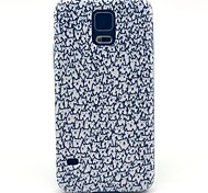 Für Samsung Galaxy Hülle Muster Hülle Rückseitenabdeckung Hülle Katze PC Samsung S5