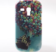 Colorful Balloons Pattern PC Hard Case with Black Frame for Samsung Galaxy S3 Mini I8190
