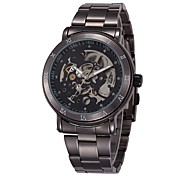 SHENHUA Men's Hollow Out Mechanical Watch