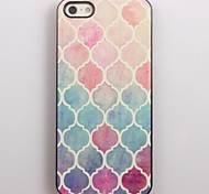 Watercolor Elegant Design Aluminum Hard Case for iPhone 4/4S