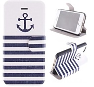 The Ship At Design PU Full Body Case with Card Slot and Stand for iPhone 5/5S