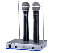 K-MIC TS-3310 Professional Wired Kalaok Voice Chat Handheld Microphoneone On Two