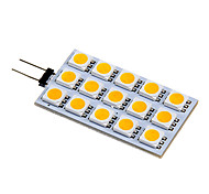 G4 3.5 W 15 SMD 5050 140-160 LM Warm wit/Koel wit 2-pins lampen DC 12 V