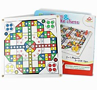 Children's Intelligence Wooden Multi-function of Flying Chess Game