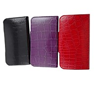 For Samsung Galaxy Case with Stand / Flip / Embossed Case Full Body Case Geometric Pattern PU Leather Samsung S3
